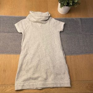 Crewcuts miles of smiles grey sweatshirt dress 6